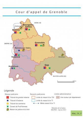Constat sur la Cour d'Appel de Grenoble