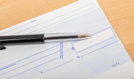 Procédure de recouvrement des chèques impayés