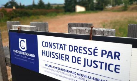 Constat du dépôt de Permis de Construire du chantier futurs locaux